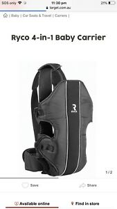 Ryco baby carrier