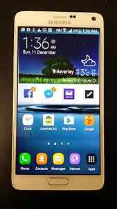 Samsung note 4, unlocked in mint condition Para Hills West Salisbury Area Preview