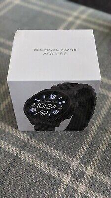 Michael Kors Smart Watch, Black MKT5096, Brand New, Sealed