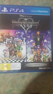 Kingdom Hearts 1.5 + 2.5 Remix ps4