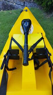 Kayak with Motor
