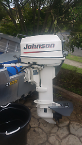 2003 25hp johnson long shaft Warilla Shellharbour Area Preview