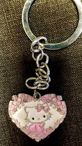 Hello Kitty Pink heart Key chain
