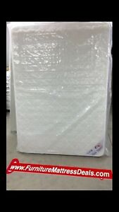 """NEW Queen Size 60""""x78"""", 7.5""""Thick Dual Sided Coil Mattress $240"""