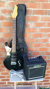 Ashton electric guitar and amp bundle Mayfield East Newcastle Area Preview