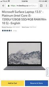 Microsoft D9P-00002 Surface Laptop
