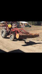 Massey furgueson farm tractor