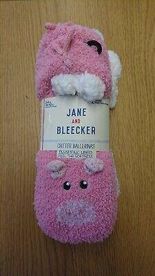 JANE AND BLEECKER CRITTER BALLERINA SLIPPERS