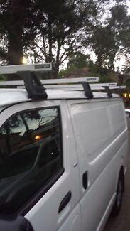 Toyota hiace  Rhino roof racks  Auburn Auburn Area Preview