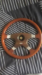 Momo wood grain steering wheel Northmead Parramatta Area Preview
