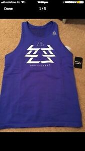 Reebok x Les Mills Body Combat Top - Brand New with Tag Size M