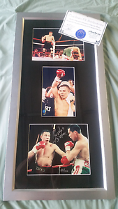 KOSTYA TSZYU SIGNED FRAMED LIMITED EDITION Springfield Lakes Ipswich City Preview