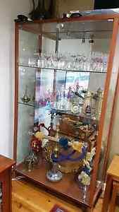 Italian glass cabinet Bass Hill Bankstown Area Preview