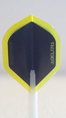 R4x Delta Yellow Standard Dart Flights