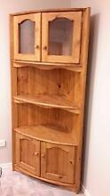 CORNER GLASS CABINET Mittagong Bowral Area Preview