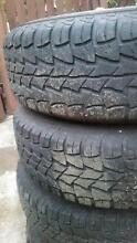 Holden Rodeo wheels and tyres 235/75r15 set of 5 Gailes Ipswich City Preview