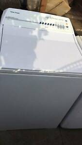 Smart drive large 7.5 kg fisher paykel top washing machine   it is in
