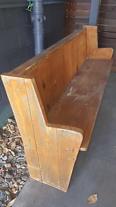 Church pew old n weathered Buderim Maroochydore Area Preview