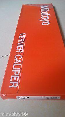 Brand New Mitutoyo Vernier Caliper 530-119 0-300mm 0-12in 0.02mm New