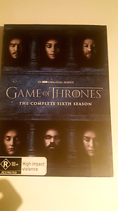 Game of Thrones Hbo The complete 6 season DVD Ardross Melville Area Preview