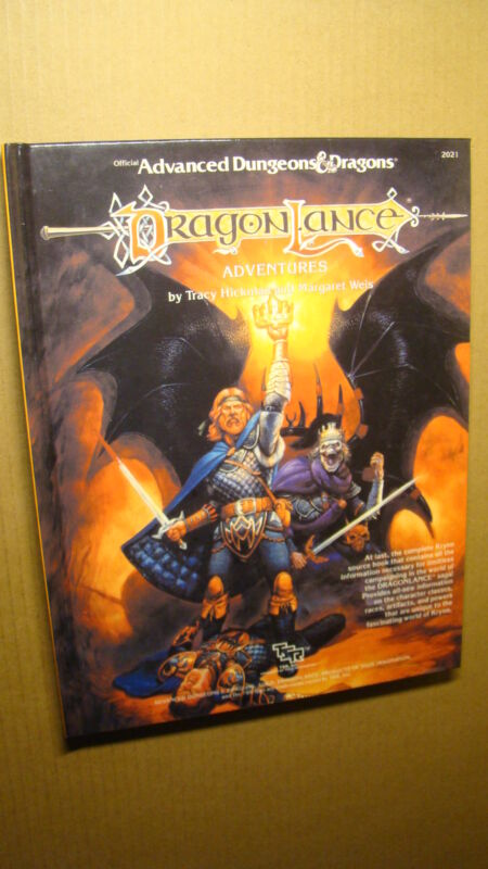 DRAGONLANCE ADVENTURES HARDBACK *NEW NM/MT 9.8 NEW* DUNGEONS DRAGONS MODULE