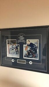 Johnny bower Curtis Joseph signed