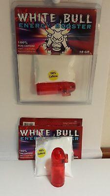 Make Drinks (Caffeine Powder- Make-Your-ENERGY DRINK- SHAKES WHITE BULL - 25 x10 Gr.=250 Gram )
