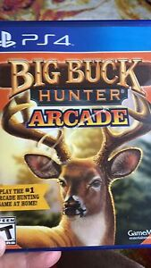 Buckhunter ps4 game brand new in wrapper