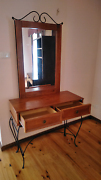 Dressing Table Wooden with mirror, Hall way table Ferntree Gully Knox Area Preview