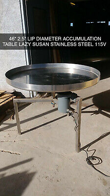 Stainless Steel Accumulation Table 46 Diameter