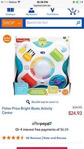 Fisher price bright beat activity center Franklin Gungahlin Area Preview