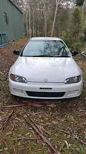 Honda civic 1994-  whole car and rims good for parts Glossodia Hawkesbury Area Preview