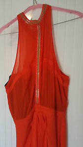 WISH full length tangerine/black dress size Mullalyup Donnybrook Area Preview