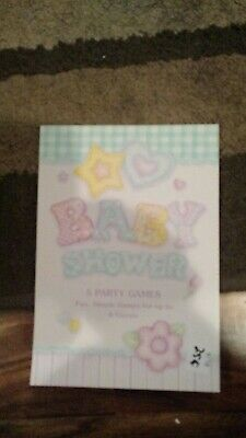 Simple Baby Shower Games (BABY SHOWER - 5 Party Games -  Fun, Simple Games For Up To 8 Guests)