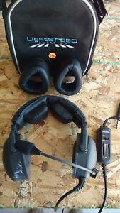 LIGHTSPEED aviation headset /ANR