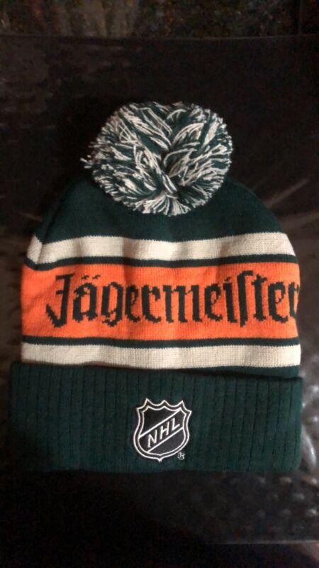 JAGERMEISTER NHL Hockey 2019 Winter Classic Knit SKI HAT (NEW))