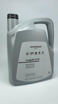 NEU Original VW Audi Seat Skoda Öl LongLife III 5L 0W-30 Motoröl 50400/50700