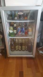 Glass front bar fridge (still available)