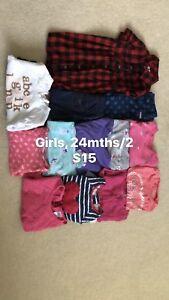 Girls 24mths/2y, $15