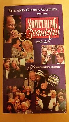 VHS Bill and Gloria Gaither present Something Beautiful Video for sale  Kannapolis