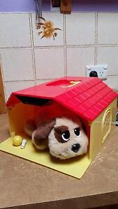 Battery operated dog and house Craigmore Playford Area Preview