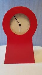 IKEA Red Wall / Mantle Clock