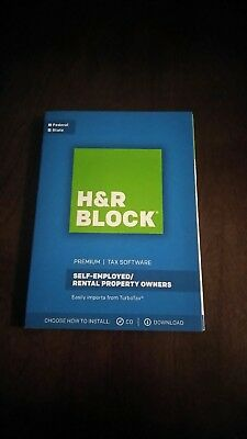 H R Block Premium 2017 Premium Tax Software  Self Employed Rental Property Owner