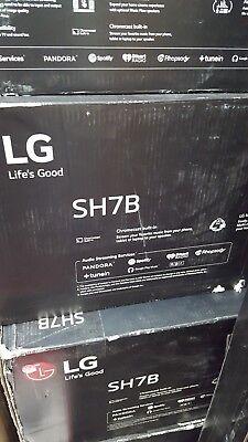 LG SH7B 360W 4.1ch Music Flow Wi-Fi Streaming Sound Bar with Wireless Subwoofer