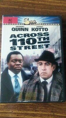Across 110Th Street Dvd Anthony Quin Yaphet Kotto Soul Cinema