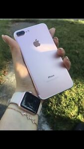 Iphone 7plus 128Gb Rose   Unlock