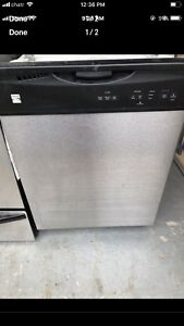 "24"" kenmore stainless steel dishwasher"
