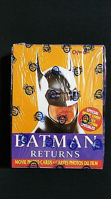 1992 OPC Batman Returns Box Factory Sealed 36 Packs