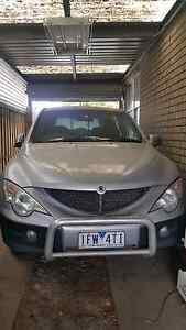 Ssangyong actyon sport 2007 4x4 auto Dallas Hume Area Preview