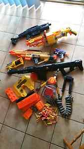 Huge Nerf Gun Lot Centurion Stampede Vulcan Rapidstrike Brassall Ipswich City Preview
